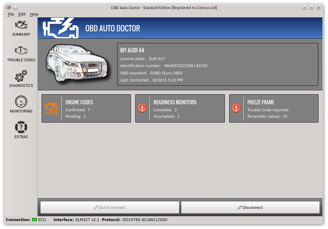 Obd Ii Diagnostic Software For Windows Mac And Linux Obd Auto Doctor